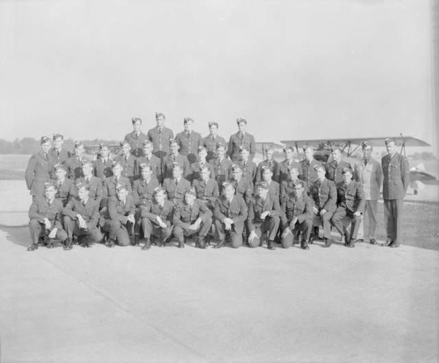 Instructor Group Photograph, about 1940-1943