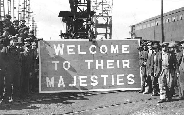 Welcome to their Majesties