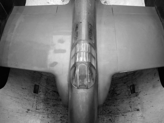 Bell XP–59A Airacomet in the Altitude Wind Tunnel