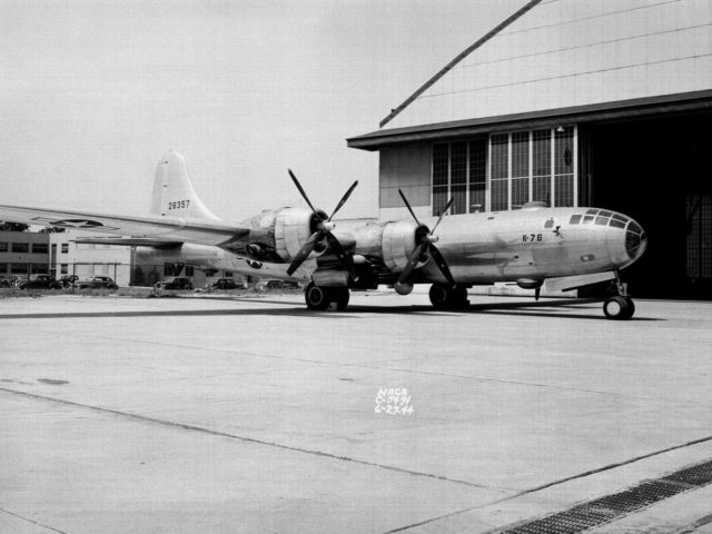 Boeing B–29 Superfortress at the Aircraft Engine Research Laboratory