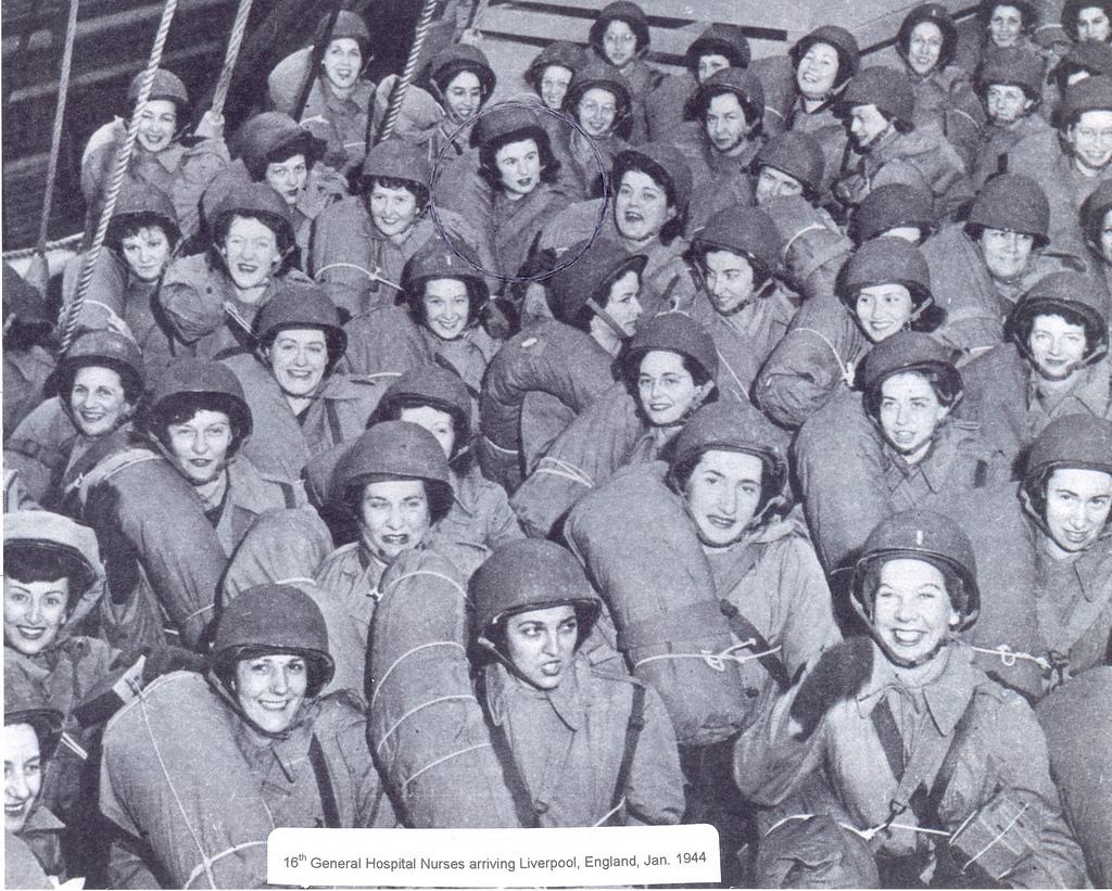 16th General Hosp Nurses, Jan 1944