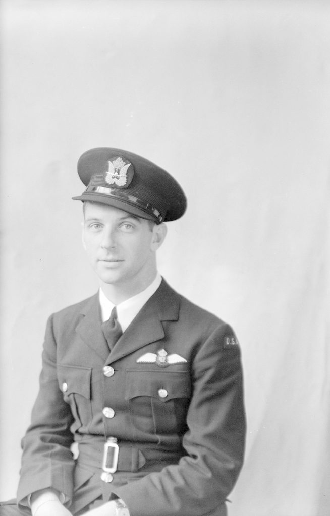 C.L. Mullenax, about 1940-1944