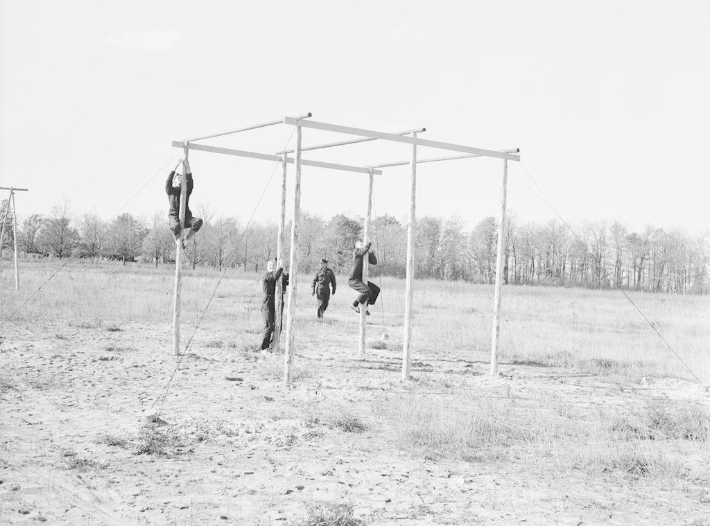 Commandos at Sky Harbour, 1943