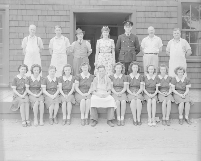 Cooks at Sky Harbour, about 1940-1944