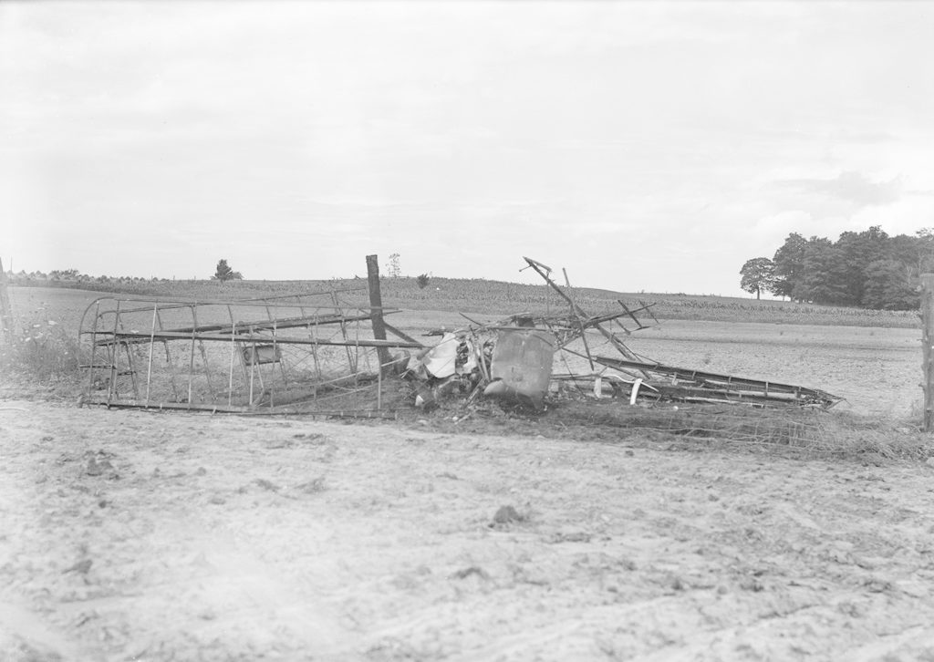 Crash at Sky Harbour (Kelly), about 1940-1944