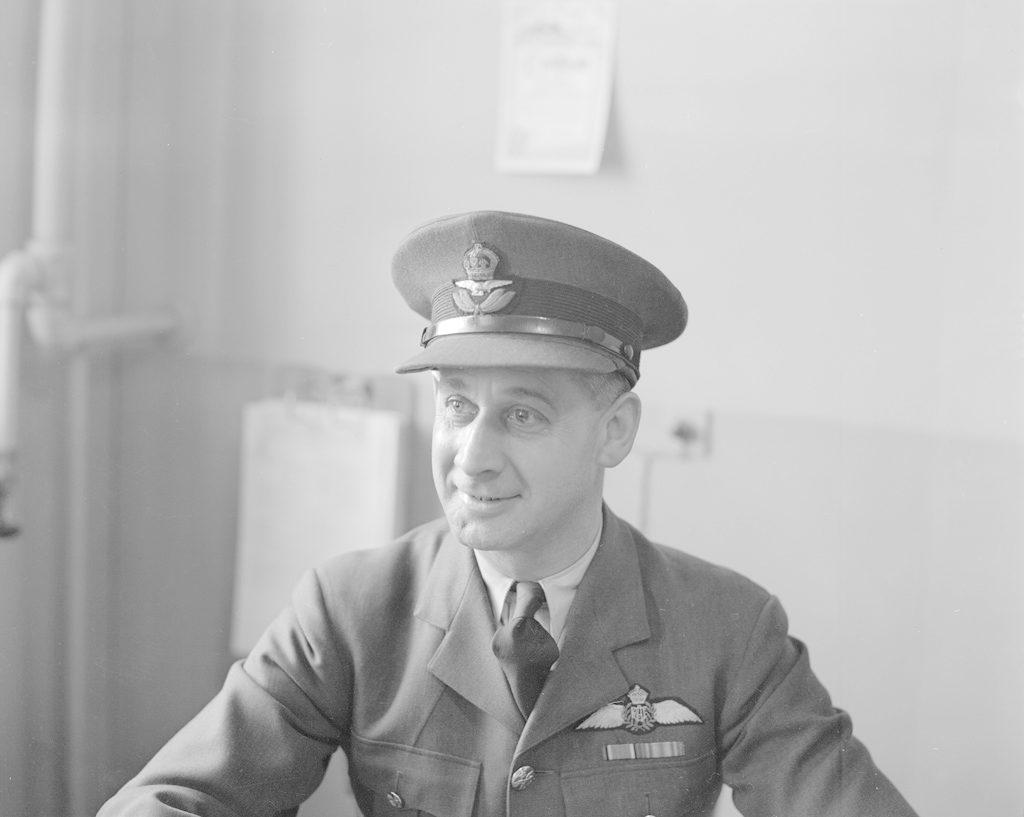 Flight Lt. Wilson, about 1940-1944