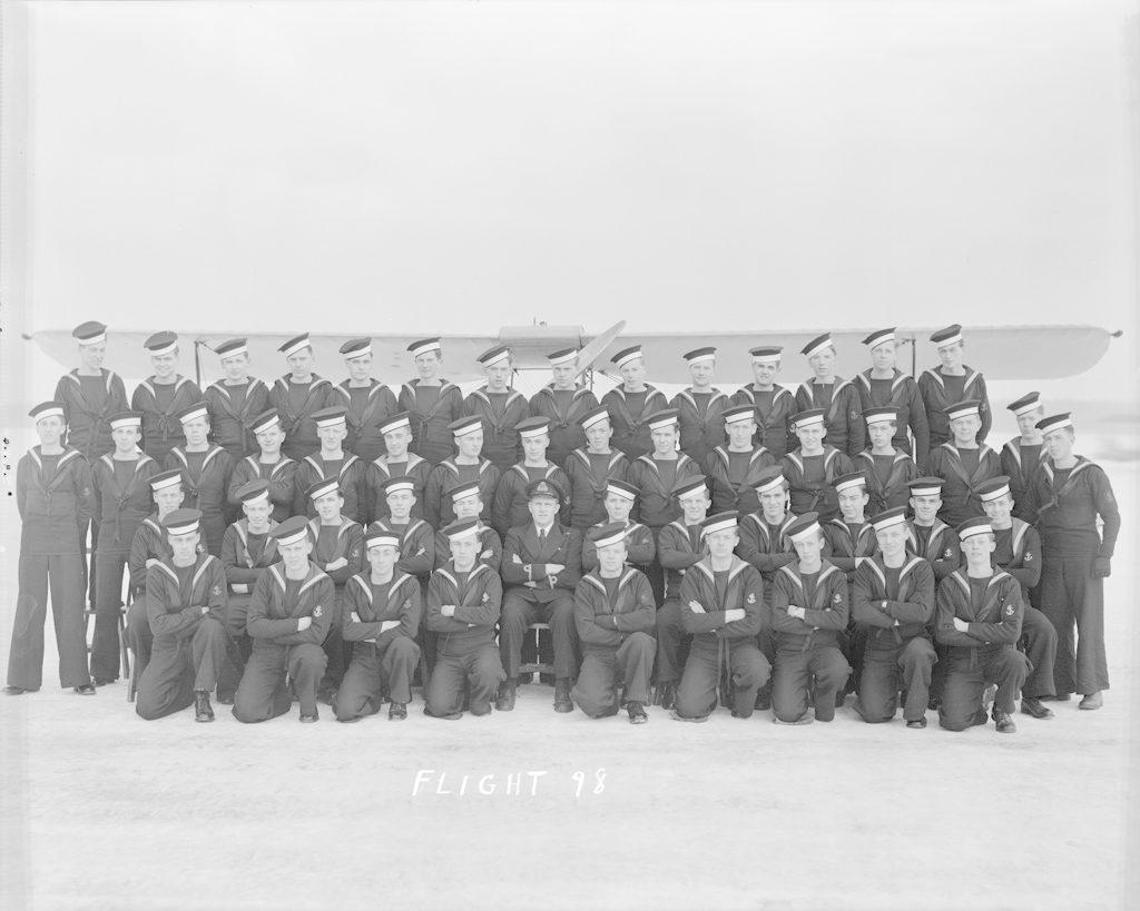 Flight No. 98, January 1944