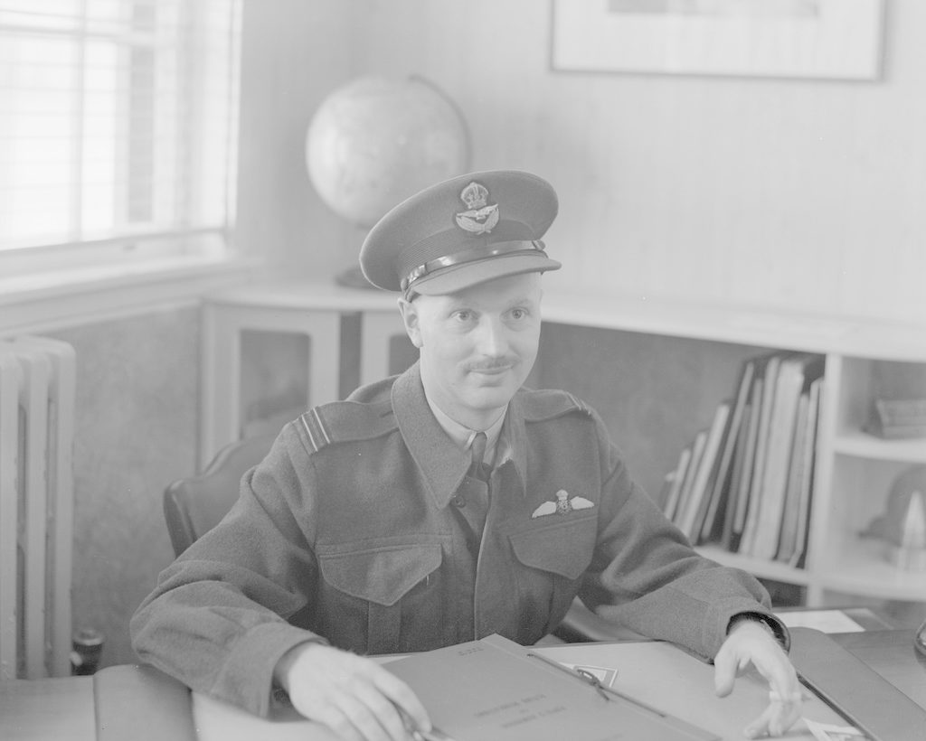 ?F/Lt Ross Perrin, about 1943