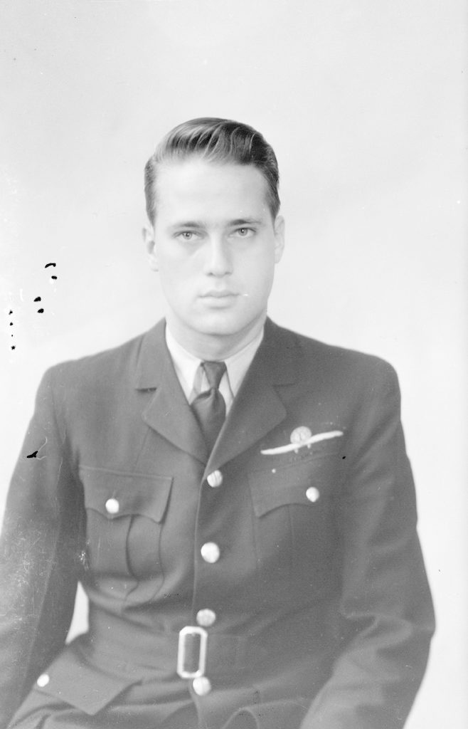 George Parsons, about 1940-1944