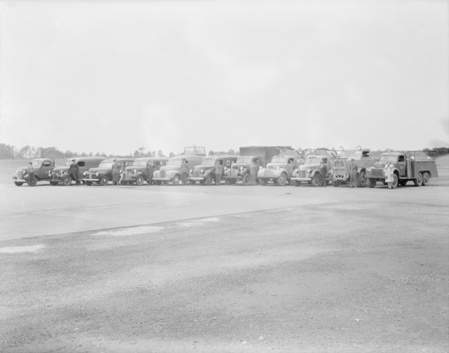 M.T. Section Sky Harbour, about 1940-1944