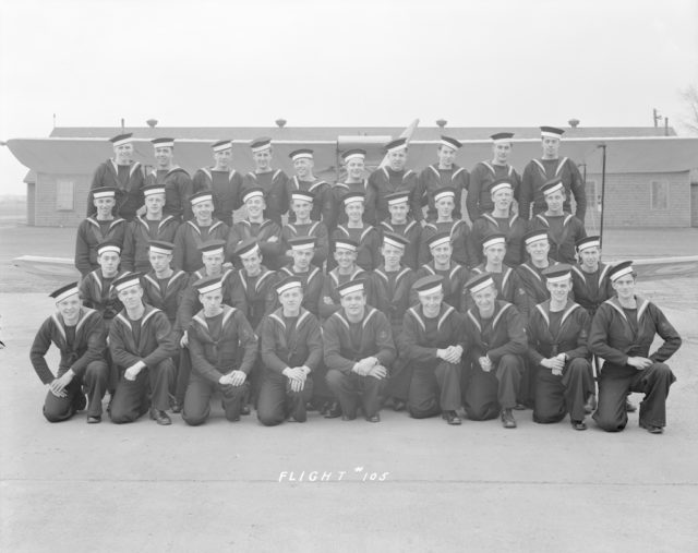 No. 105 Sky Harbour Class, about 1943-1944