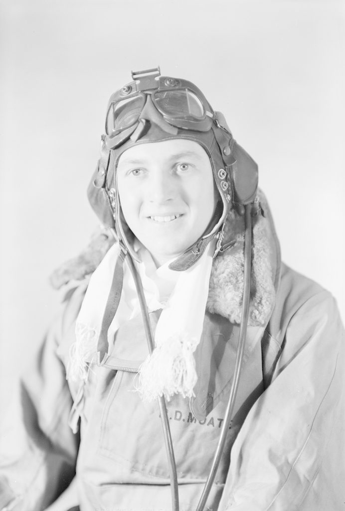 P.D. Moate, about 1940-1944