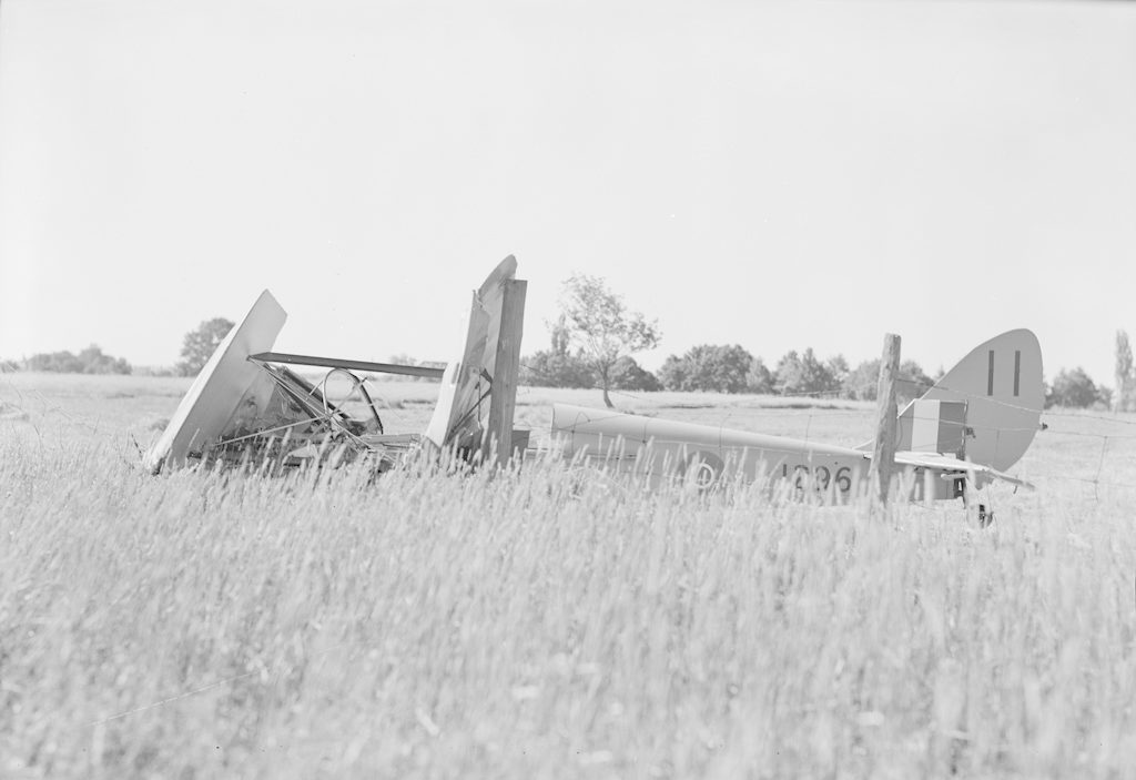 Plane Crash, about 1940-1944