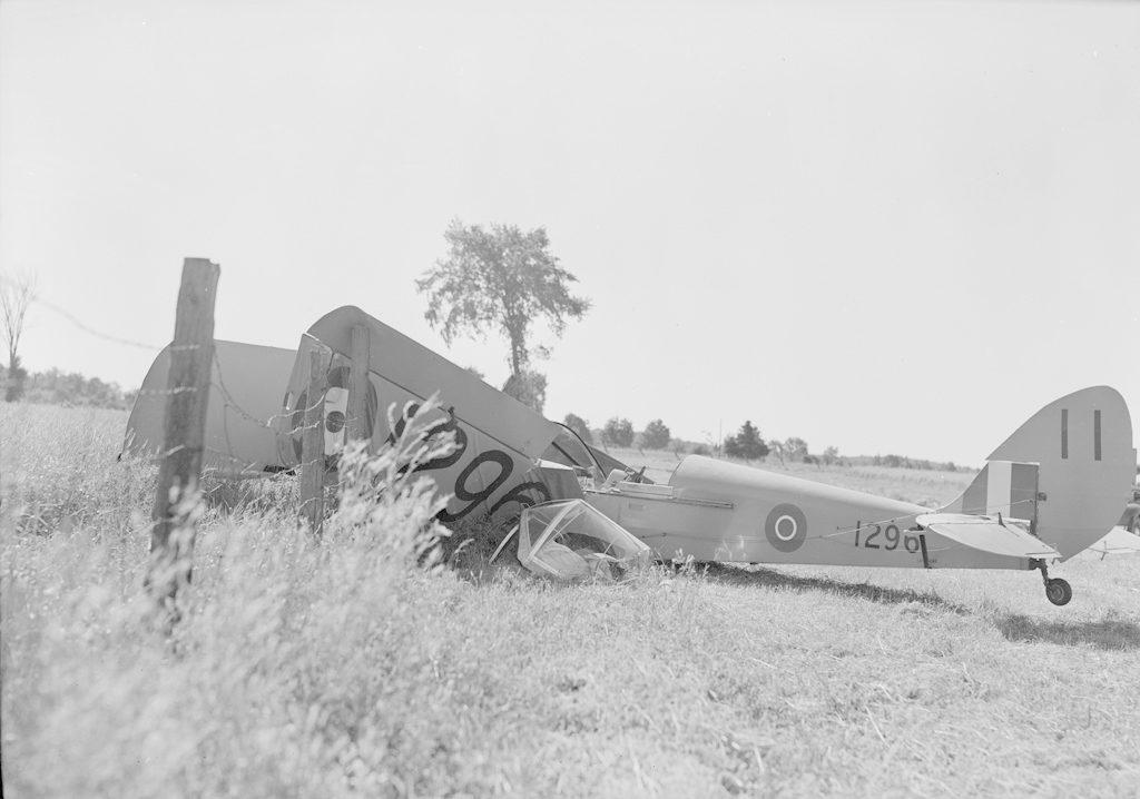 Plane Crash, about 1940-1944