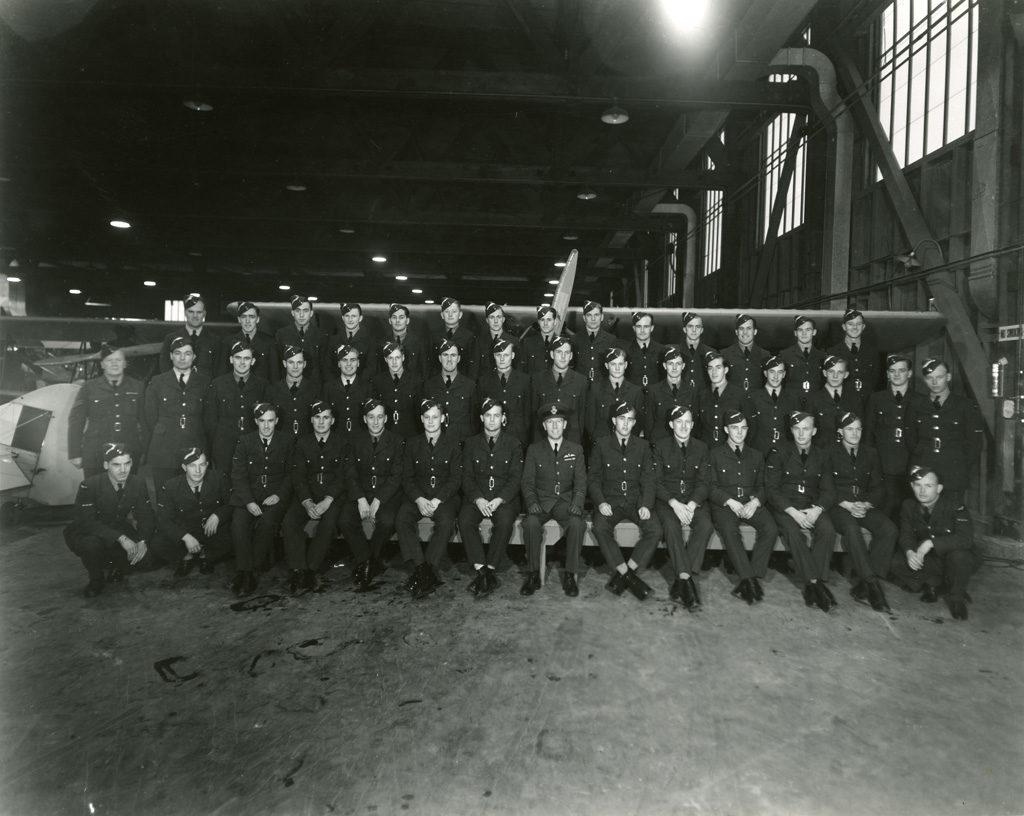 Sky Harbour EFTS No. 12 Class 16, December 11, 1941