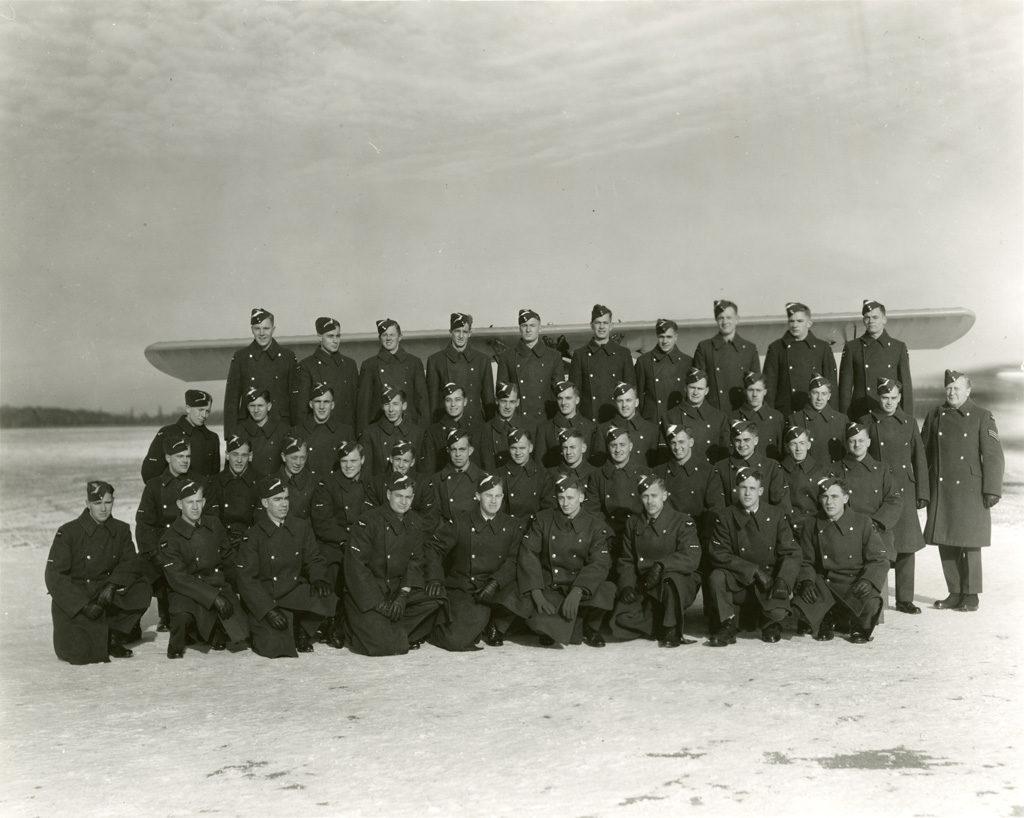 Sky Harbour EFTS No. 12 Class 17, December 21, 1941