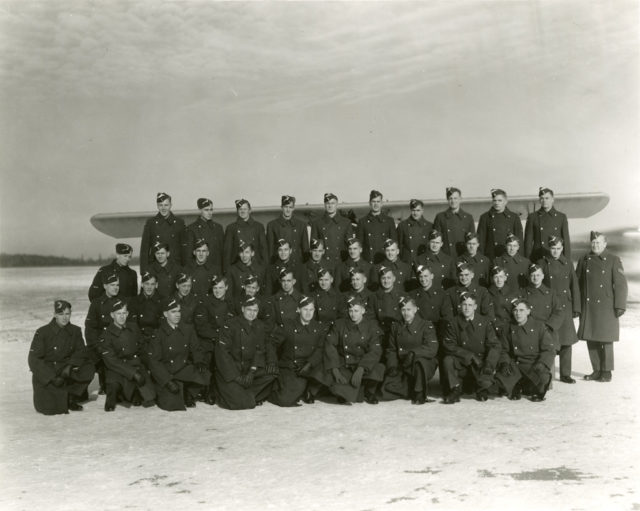 Sky Harbour EFTS No. 12 Class 17, December 21, 1941