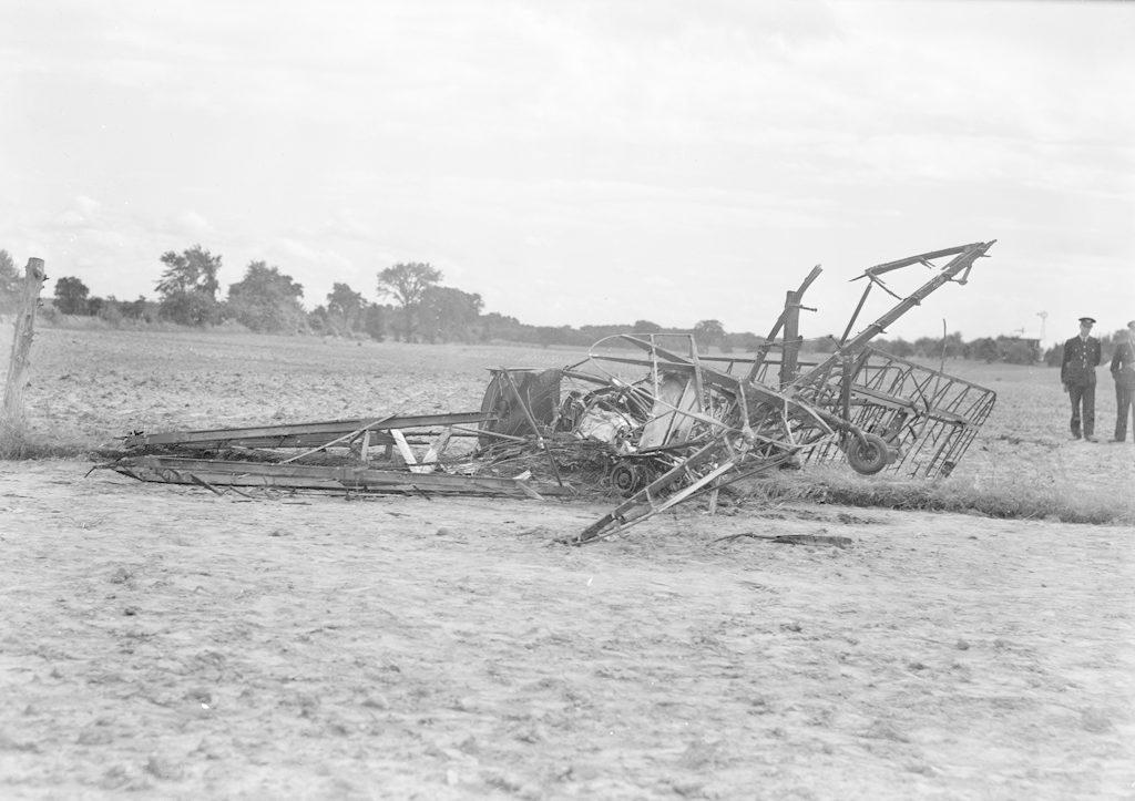 Sky Harbour Kelly Plane Crash, about 1940-1944