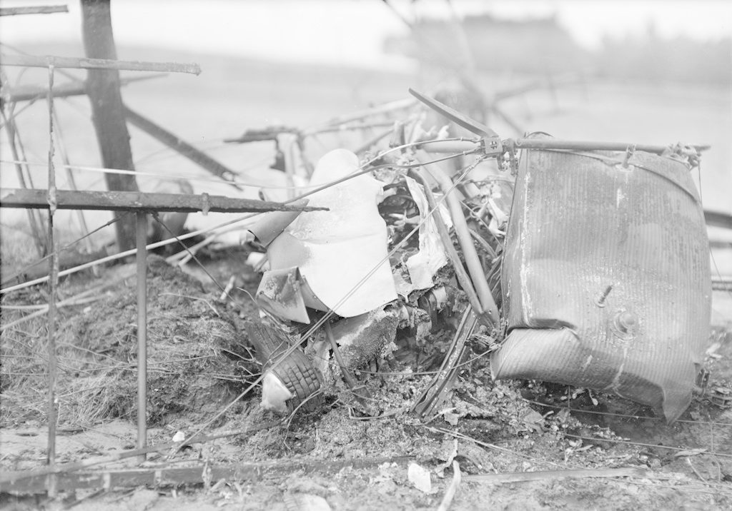 Sky Harbour Kelly Plane Crash, about 1940-1944