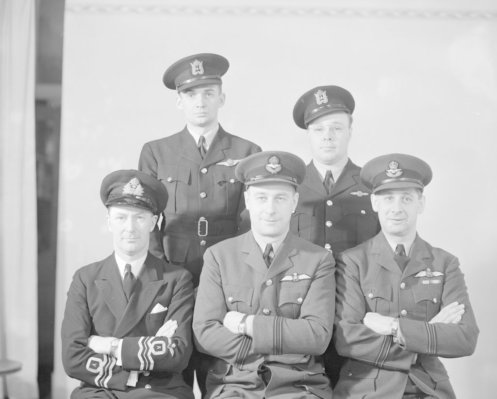 Sky Harbour Staff, about 1940-1944