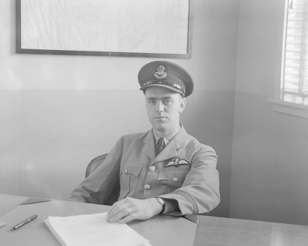Unidentified Man with Hat, about 1940-1944