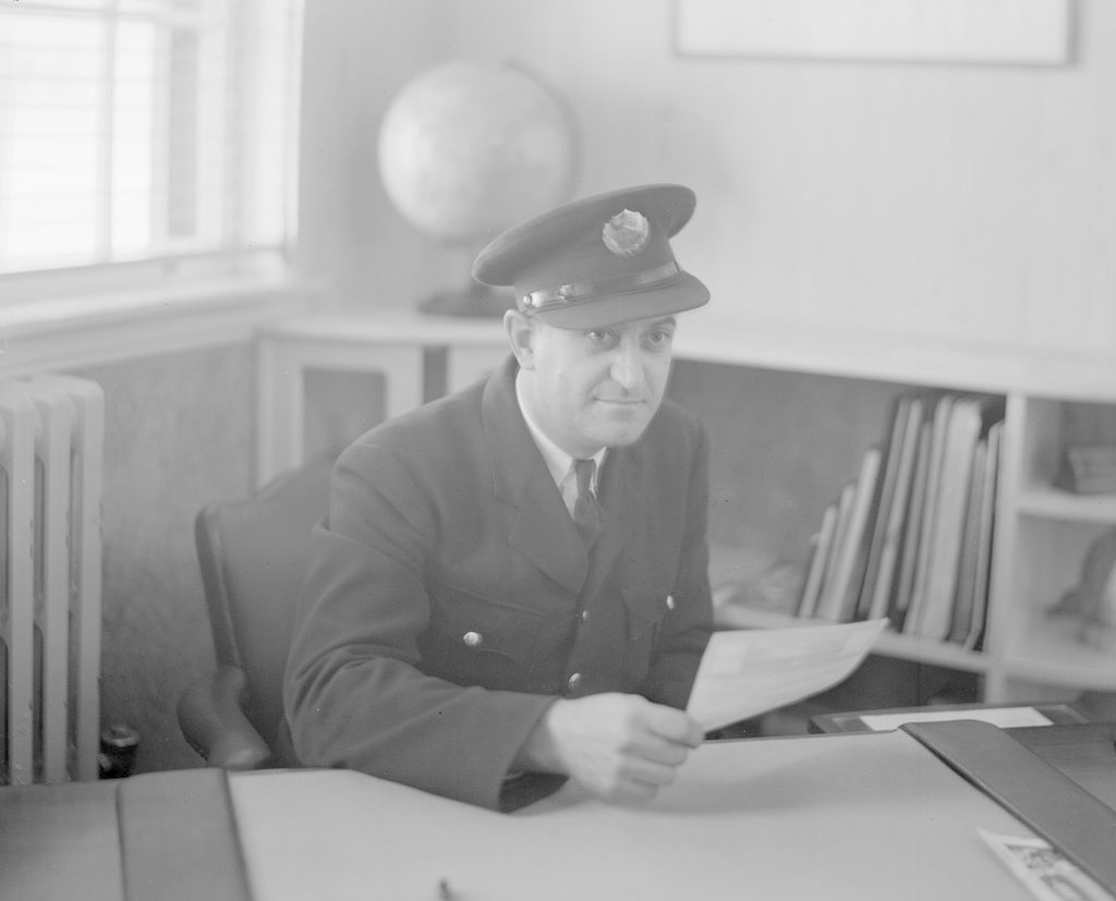 Unknown Man, about 1940-1944