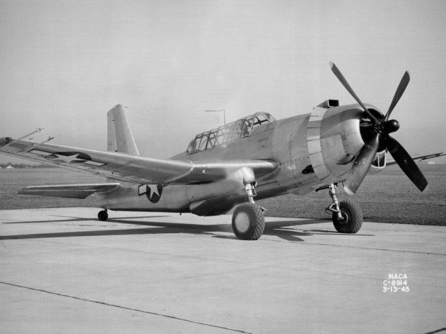 Vultee YA–31C Vengeance at the NACA