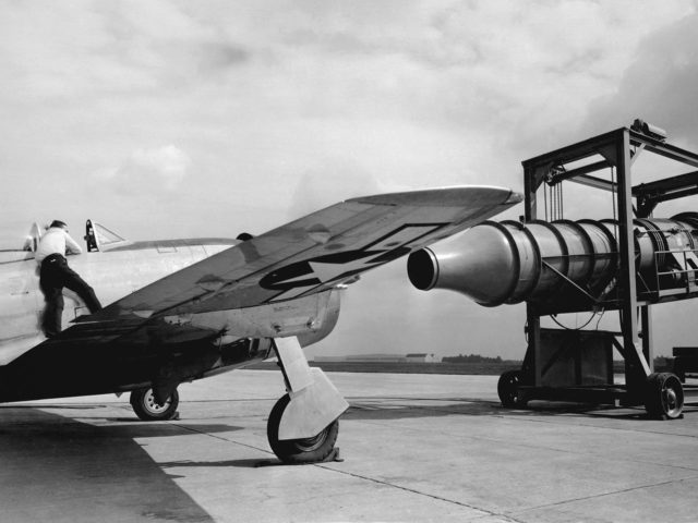 Republic P-47G Thunderbolt Undergoes Ground Testing