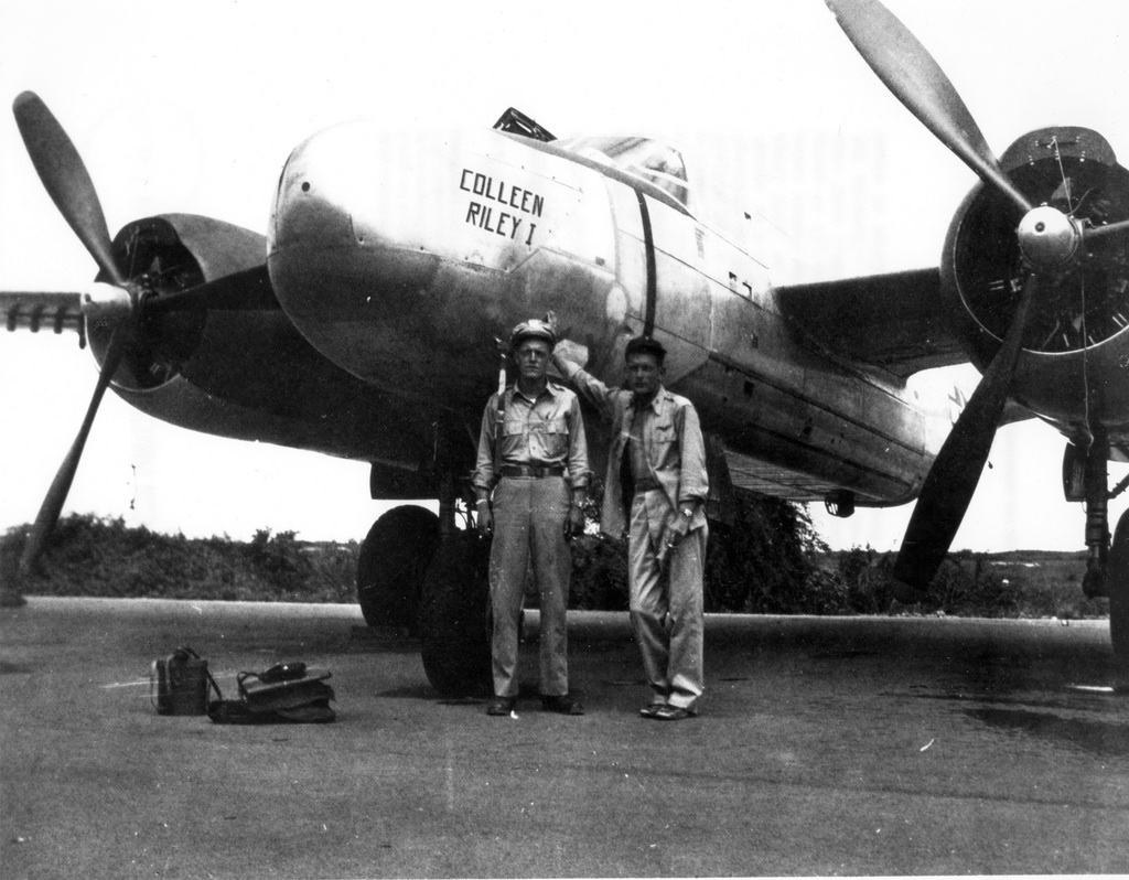 Astronaut Deke Slayton during World War II