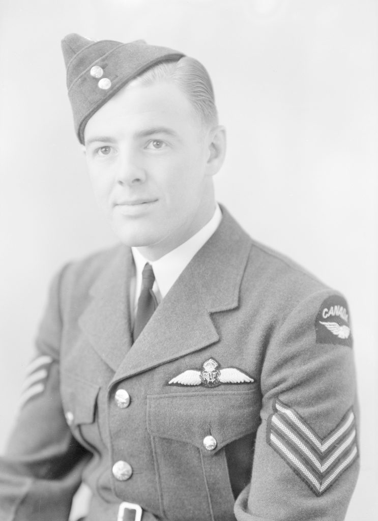 Bill Brown, about 1940-1945