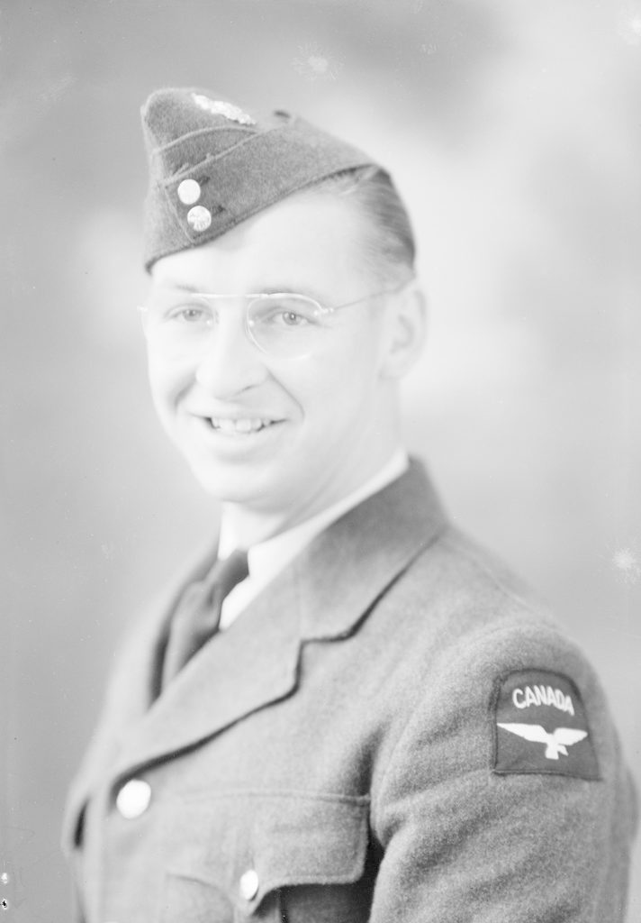 Bill Mcinnis, about 1940-1945