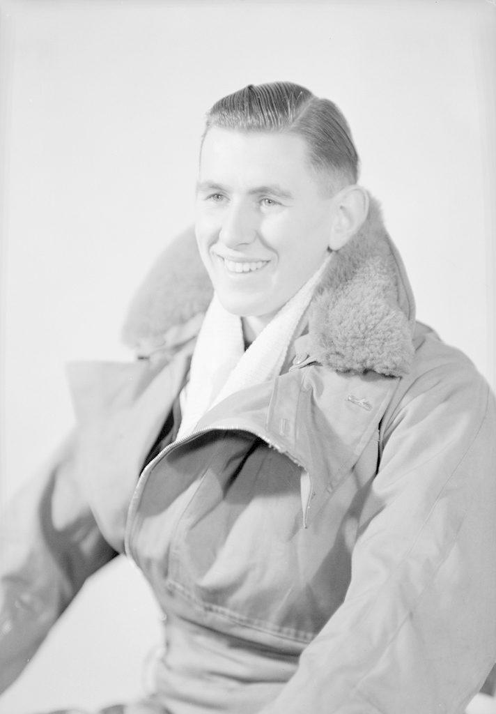 D.C. Crisp, about 1940-1945