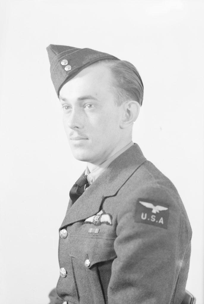 D.E. Allnatt, about 1940-1945