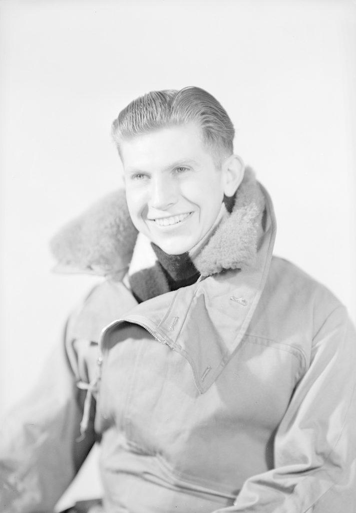 D.L. Crofts, about 1940-1945