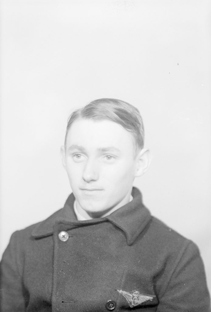 Donald Hildebrand, about 1940-1945