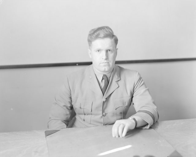Dr. John Wallace, Chief Medical Officer, about 1940-1945