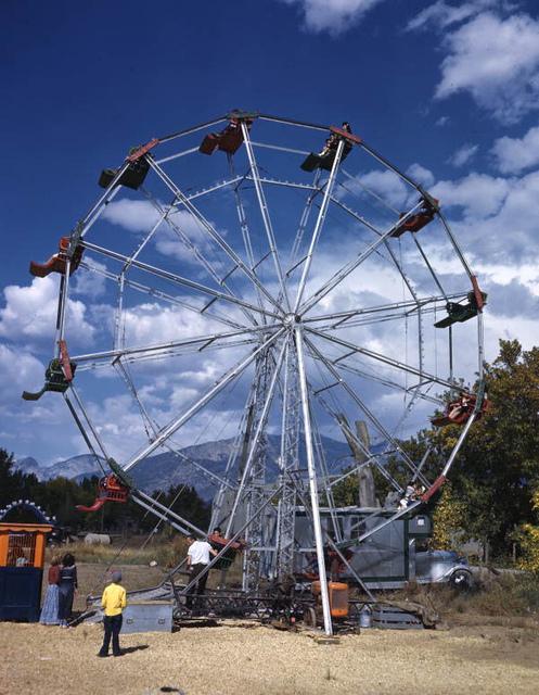 Ferris wheel in Taos, New Mexico