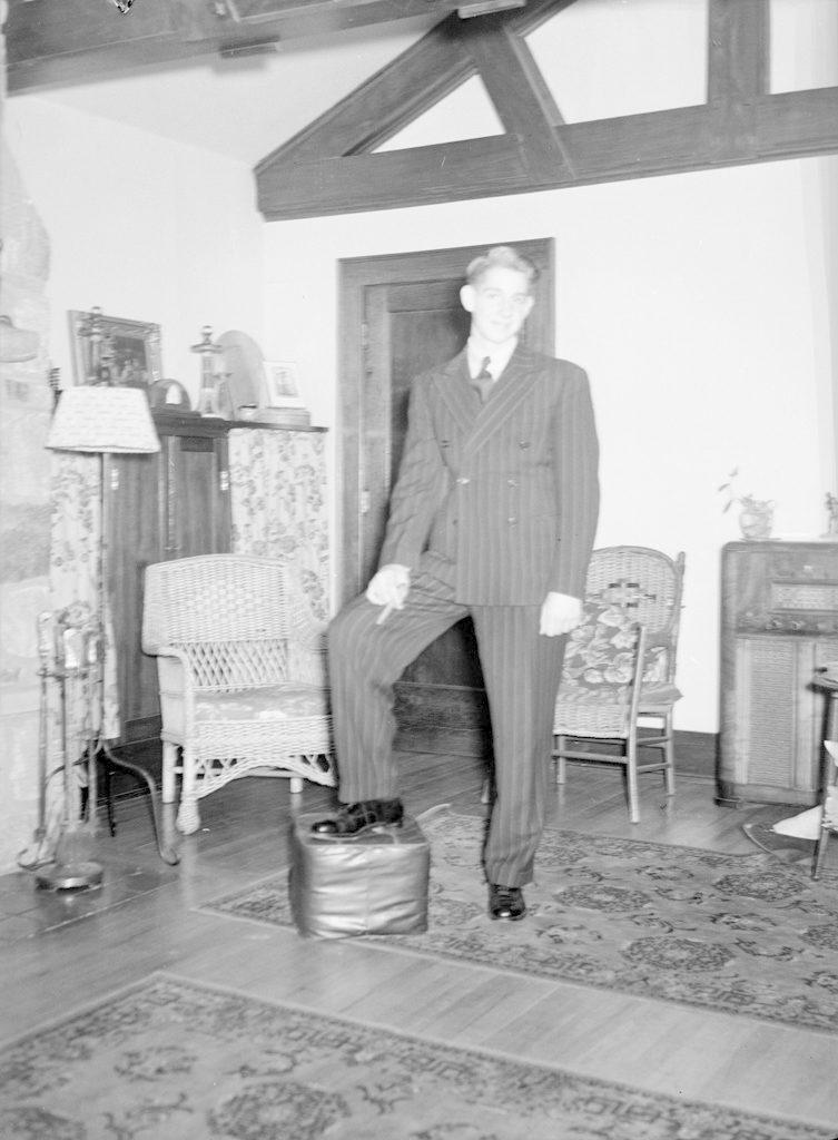 Flight Lieutenant Wilson, about 1940-1945