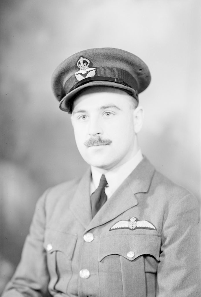 F/Lt Marshall, about 1940-1945