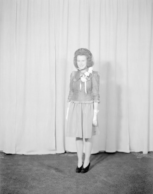 F/O Fisher Bride, about 1940-1945