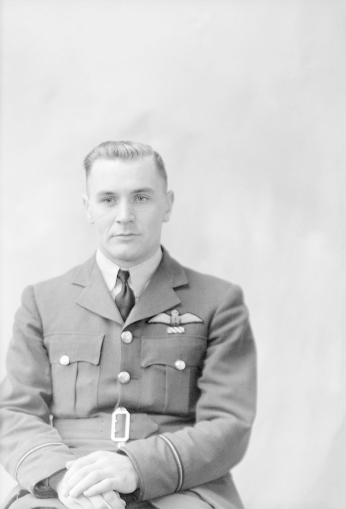 F/O Kitching, about 1940-1945
