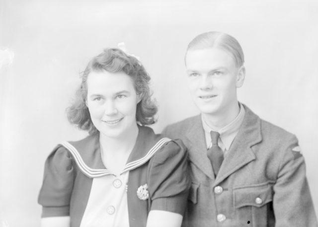 G.C. Heath, about 1940-1945
