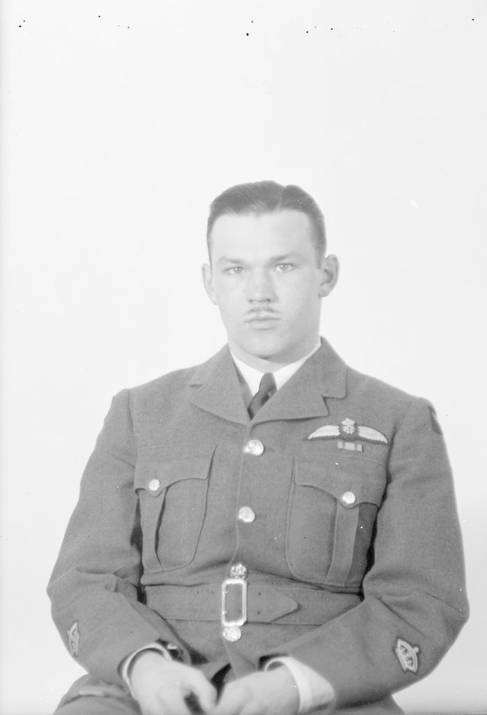 G.W. Wright, about 1940-1945