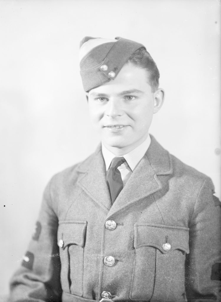 H.K. Naylor, about 1940-1945