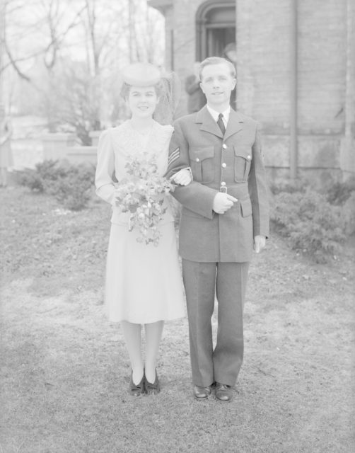 Holmes Weddings, about 1940-1945