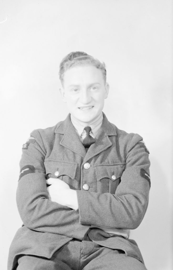 H.R. Brown, about 1940-1945