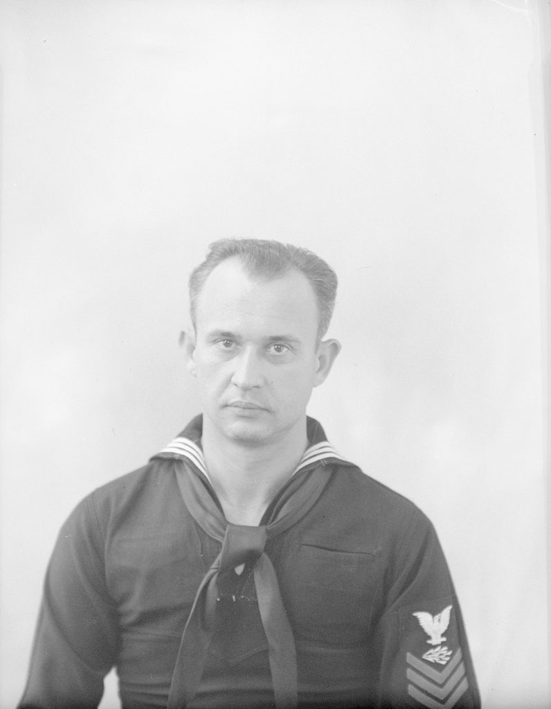 J.C. Fornar, about 1941-1945