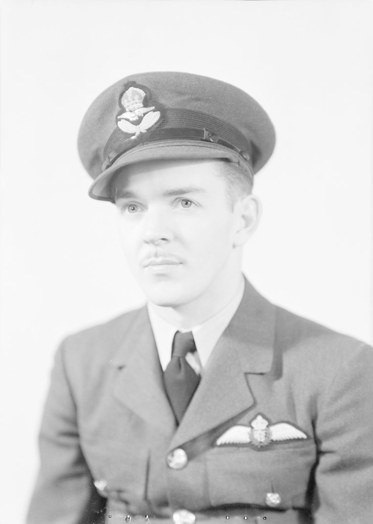 J.M. Gordon, about 1940-1945