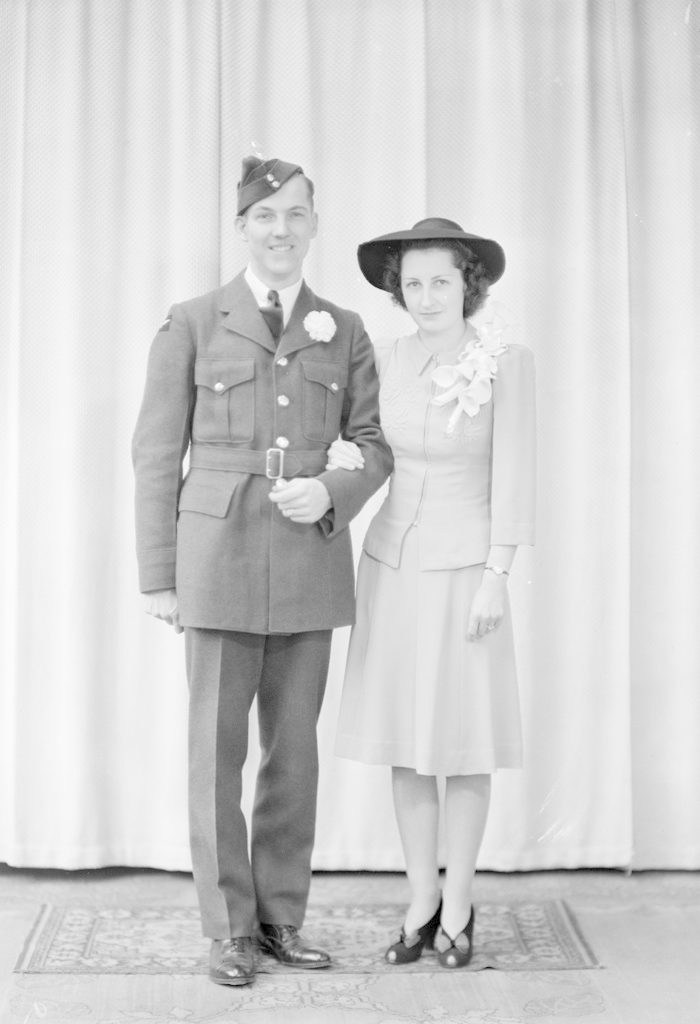 Keith Arthur, about 1940-1945