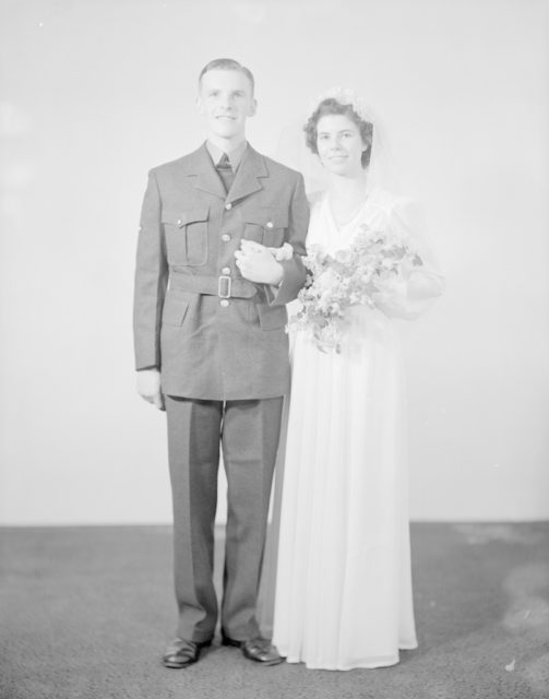L.A.C. and Mrs. Kempsler, about 1940-1945